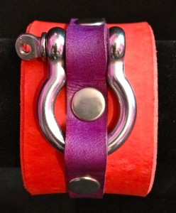 latigo custom color cuff 2