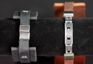 Closed (left) and Open (right) Wristwatch-stye Closures