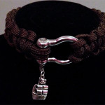 Brown Choker with Charm
