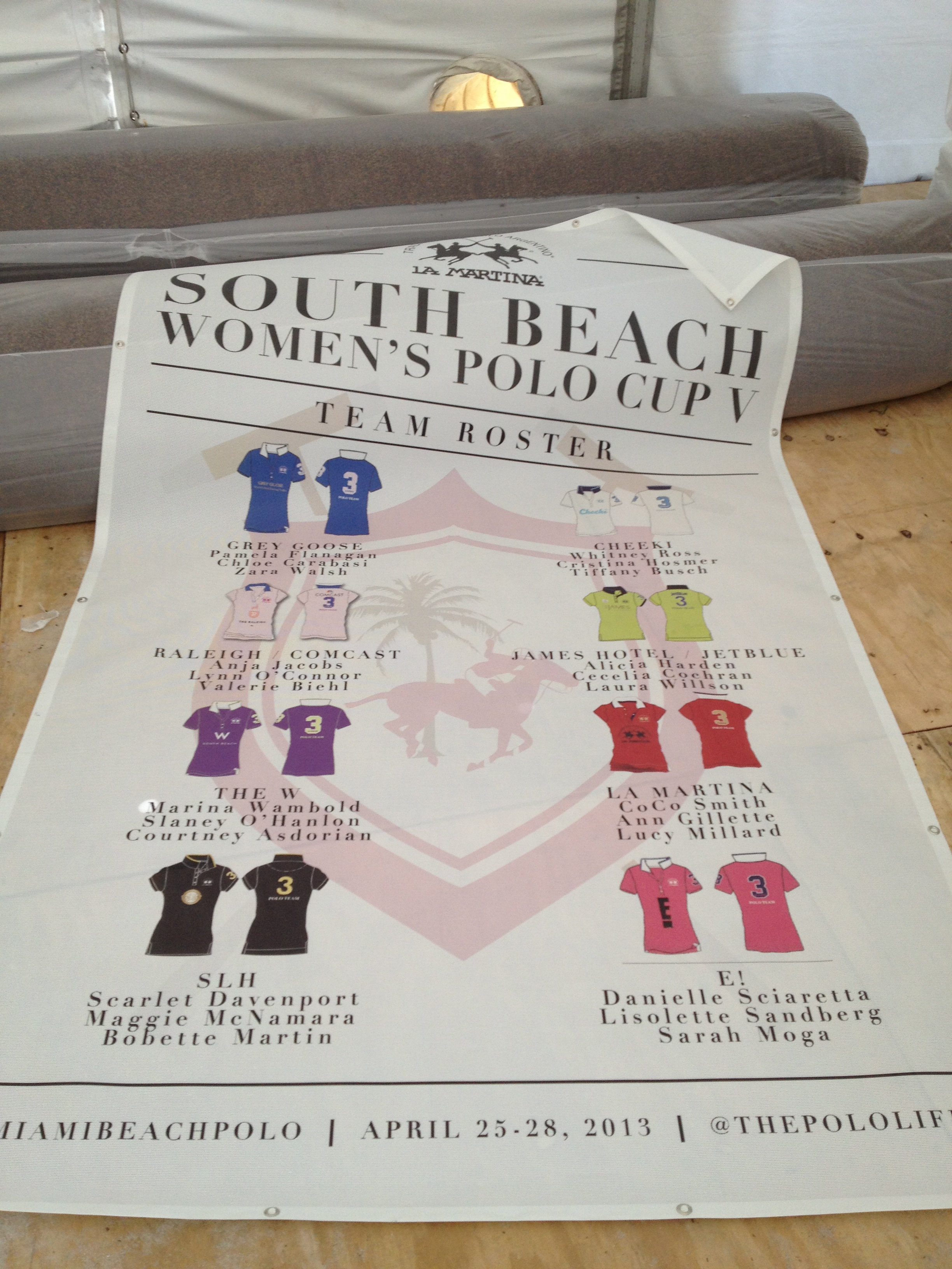 the female polo teams