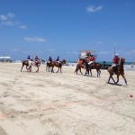 beach polo game
