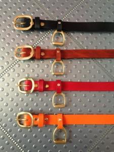 the Stirrup belt - various colors