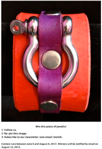 Color Latigo Cuff