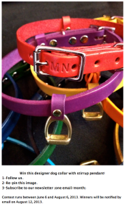 Stirrup Dog Collar