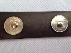 amsterdammer belt riveted guilder coins