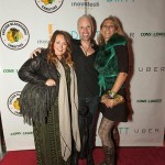 Photographer Andrea Plecko, Green Goddess Boutique manager Ryan O'Neill and Miss Nyet Jewelry creator Delphine Pontvieux (GR)