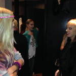 Models getting ready backstage (DP)