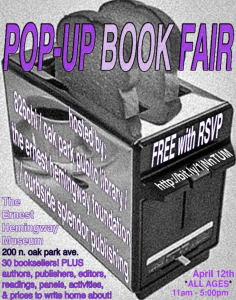 POP UP BOOK FAIR 2014